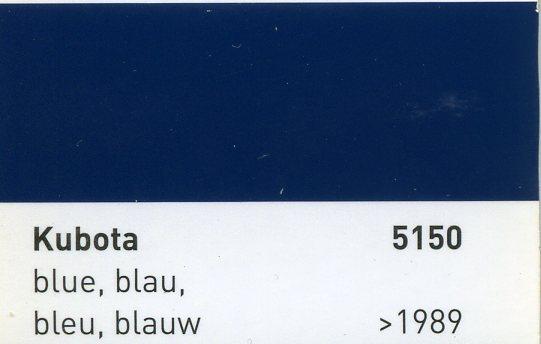 eXact 1K-Kunstharz-Lack Baumaschinen 7299 Kubota Grau